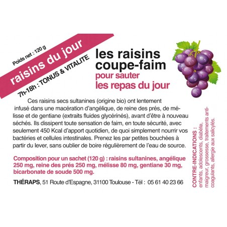 LES RAISINS COUPE-FAIM