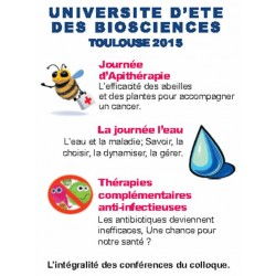 UNIVERSITÉ D'ÉTÉ 2015